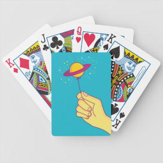 Keep your hopes up! bicycle playing cards