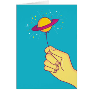 Keep your hopes up! card