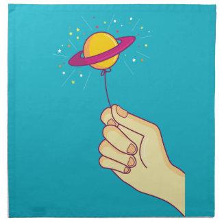 Keep your hopes up! napkin