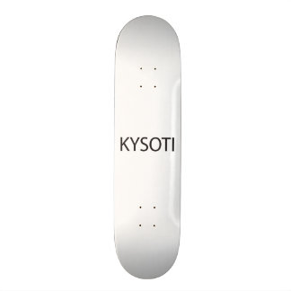 Keep Your Stick On The Ice.ai Skate Board Deck