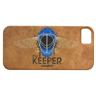 Keeper Hockey Goalie Mask iPhone 5 Cases
