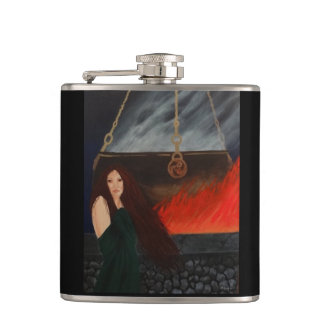 Keeper of the Flame Hip Flask