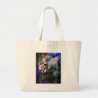 KEEPER OF THE GATE LARGE TOTE BAG