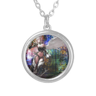 KEEPER OF THE GATE SILVER PLATED NECKLACE