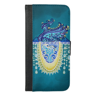 Keeper of the light, positivevibes, healing iPhone 6/6s plus wallet case