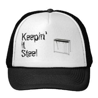 Keepin' is Steel Trucker Hat