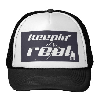 Keepin' It Reel (all colours) Trucker Hat