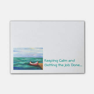 Keeping Calm Post-it Note