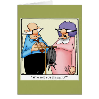 Keeping In Touch Humor Greeting Card