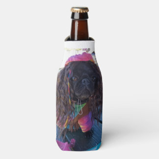 Keeping it Chill with Puggy Bottle Coozie! Bottle Cooler
