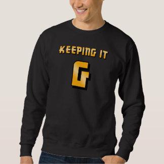 Keeping It G - Black Sweatshirt