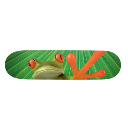 Keeping It Green Skateboard