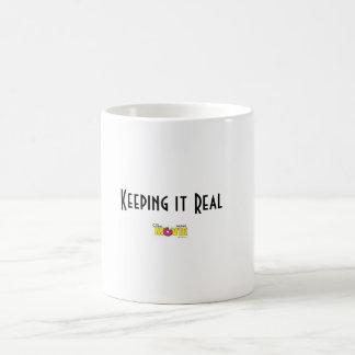 Keeping It Real Coffee Mug