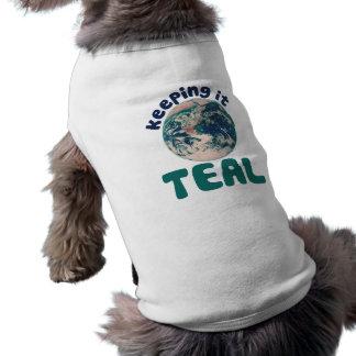 Keeping it Teal Doggie Tshirt