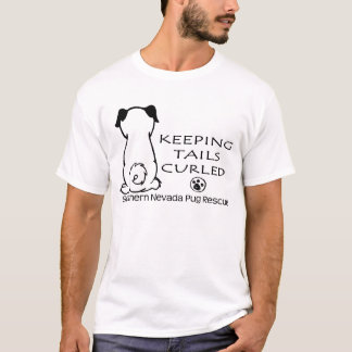 Keeping Tails Curled-Shirt (light) T-Shirt