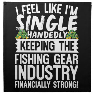 Keeping the Fishing Industry Financially Strong Napkin