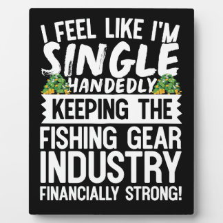 Keeping the Fishing Industry Financially Strong Plaque