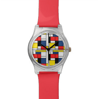 Keeping Time with Mondrian Watch
