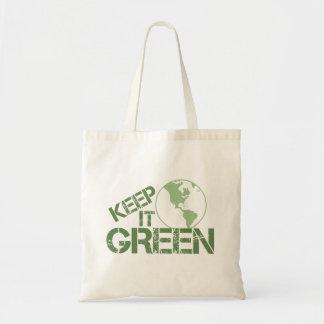 keepitgreen tote bag