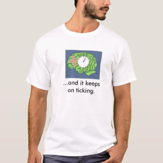 """Keeps on ticking"" t-shirt"