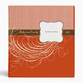 Keepsake Binder for Autumn