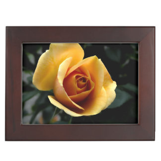 Keepsake Box - Custom Yellow Rose