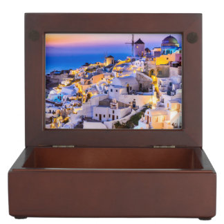 Keepsake Box Oia Santorini Greece