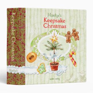 Keepsake Christmas Binder