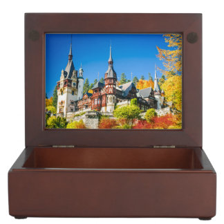 Keepsake gift box Peles castle Sinaia