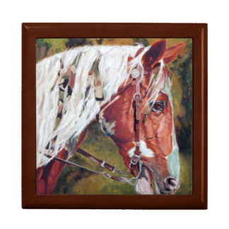 Keepsake Jewelry Box Warriors Horse