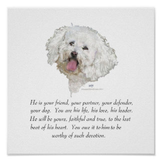 Keepsake, Male Dog Poster