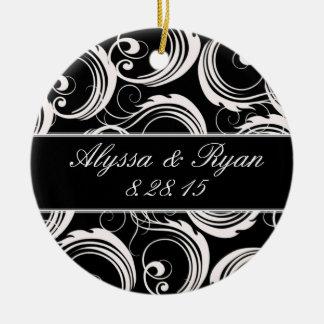 Keepsake Ornament - Black & White Formal