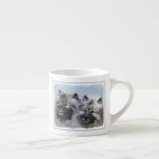 Keeshond Brothers Espresso Cup