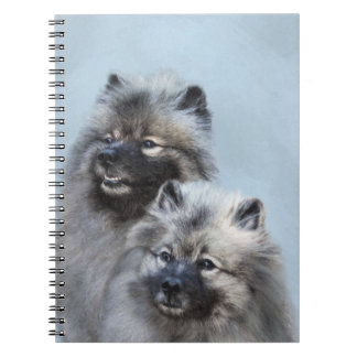 Keeshond Brothers Notebooks