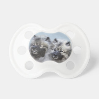 Keeshond Brothers Pacifier