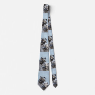 Keeshond Brothers Tie