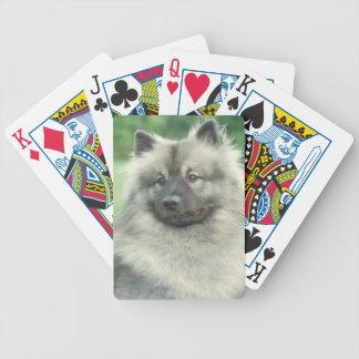 Keeshond Dog Playing Cards