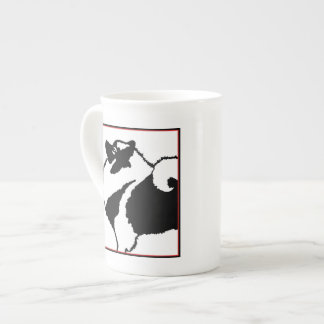 Keeshond Graphics  - Cute Original Dog Art Tea Cup