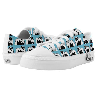 Keeshond Graphics Low-Top Sneakers