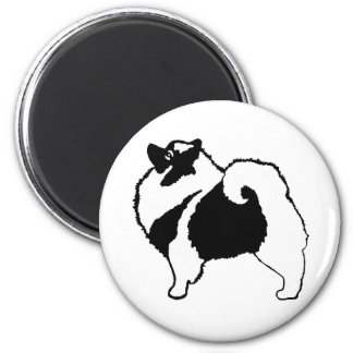 Keeshond Graphics Magnet
