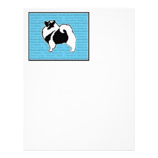 Keeshond Graphics with Word Letterhead