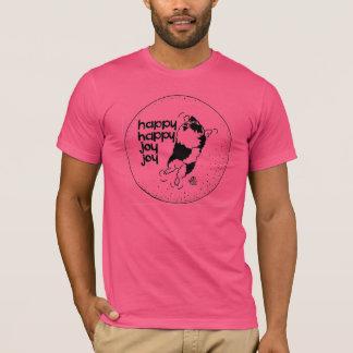 Keeshond Happy Happy Joy Joy T-Shirt