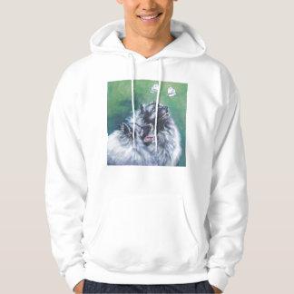 keeshond hoodie