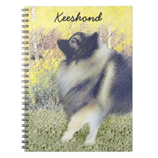 Keeshond in Aspen Notebook