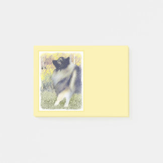 Keeshond in Aspen Post-it Notes