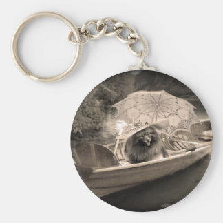 Keeshond Lovely Day Keychain