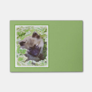 Keeshond Puppy Post-it Notes