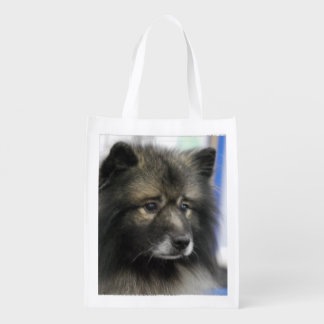 Keeshond Reusable Grocery Bag