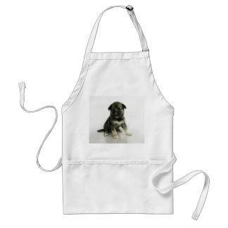 Keeshond Siberian Husky Crossbreed Puppy Standard Apron