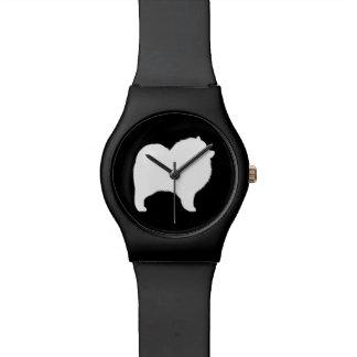 Keeshond Silhouette Watch